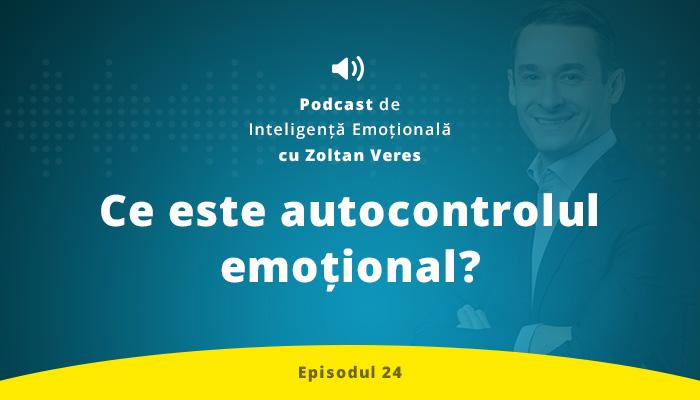 Ce este autocontrolul emotional?